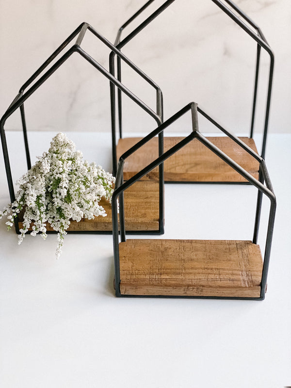 House Frame Shelf, available in three sizes!