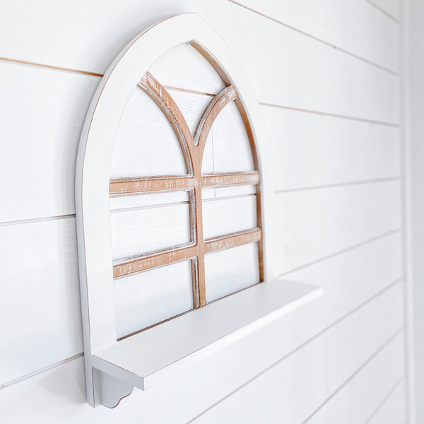 Window Arch Shelf