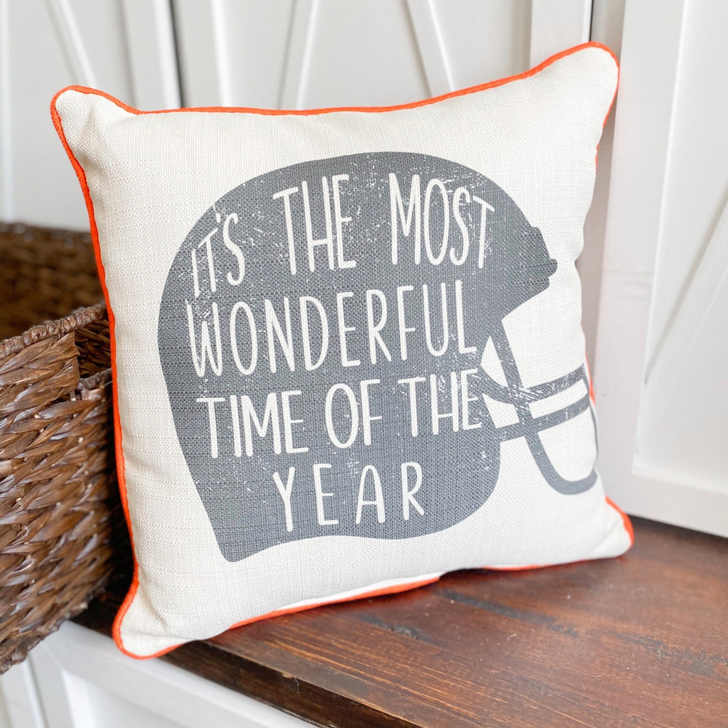 """Most wonderful time of the year"" Pillow"