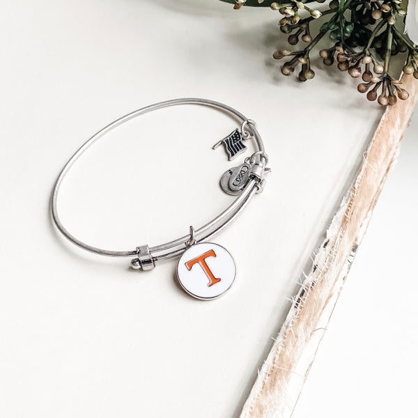 University of Tennessee Charm Bangle