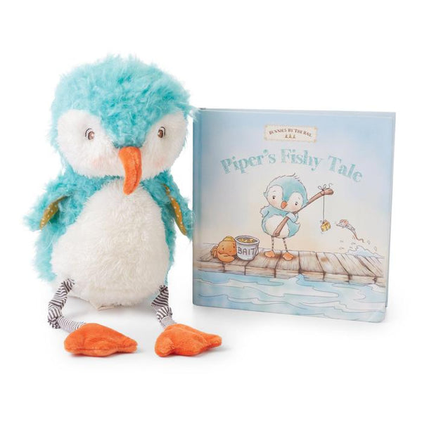 Piper plush animal and book set