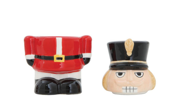 Nutcracker salt and pepper shakers