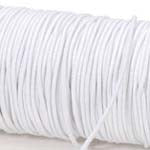 White Elastic Cord 2mm 72 yds (216 ft)
