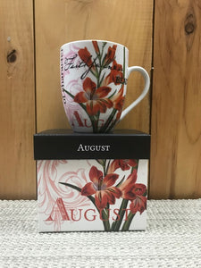 Flower Of The Month Mug August