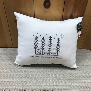 Camping Pillow 14x17-Cushions, Throws, Home Linen-Ella's Keeping Company-Ella's Keeping Company