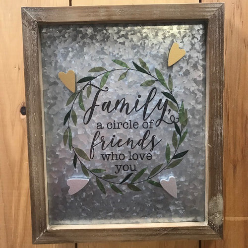 Family Metal Magnet Board