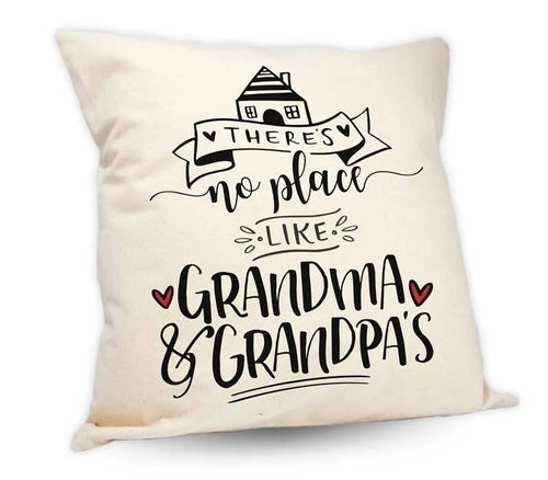 Grandma and Grandpa's House Cushion