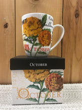 Flower Of The Month Mug October