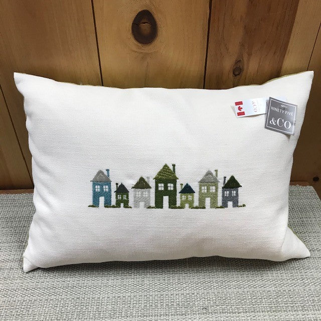 Houses Pillow14x20
