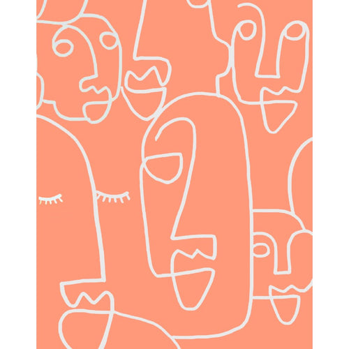 Faces Canvas Print