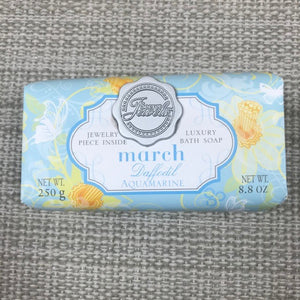Flower Of The Month Secret Jewels Soap March
