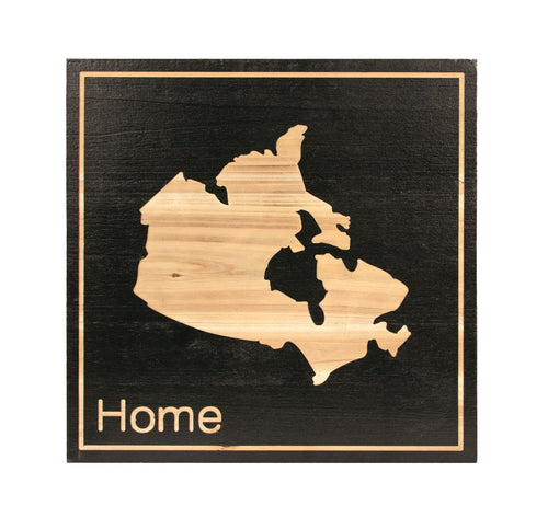 Canada Map Wall Decor