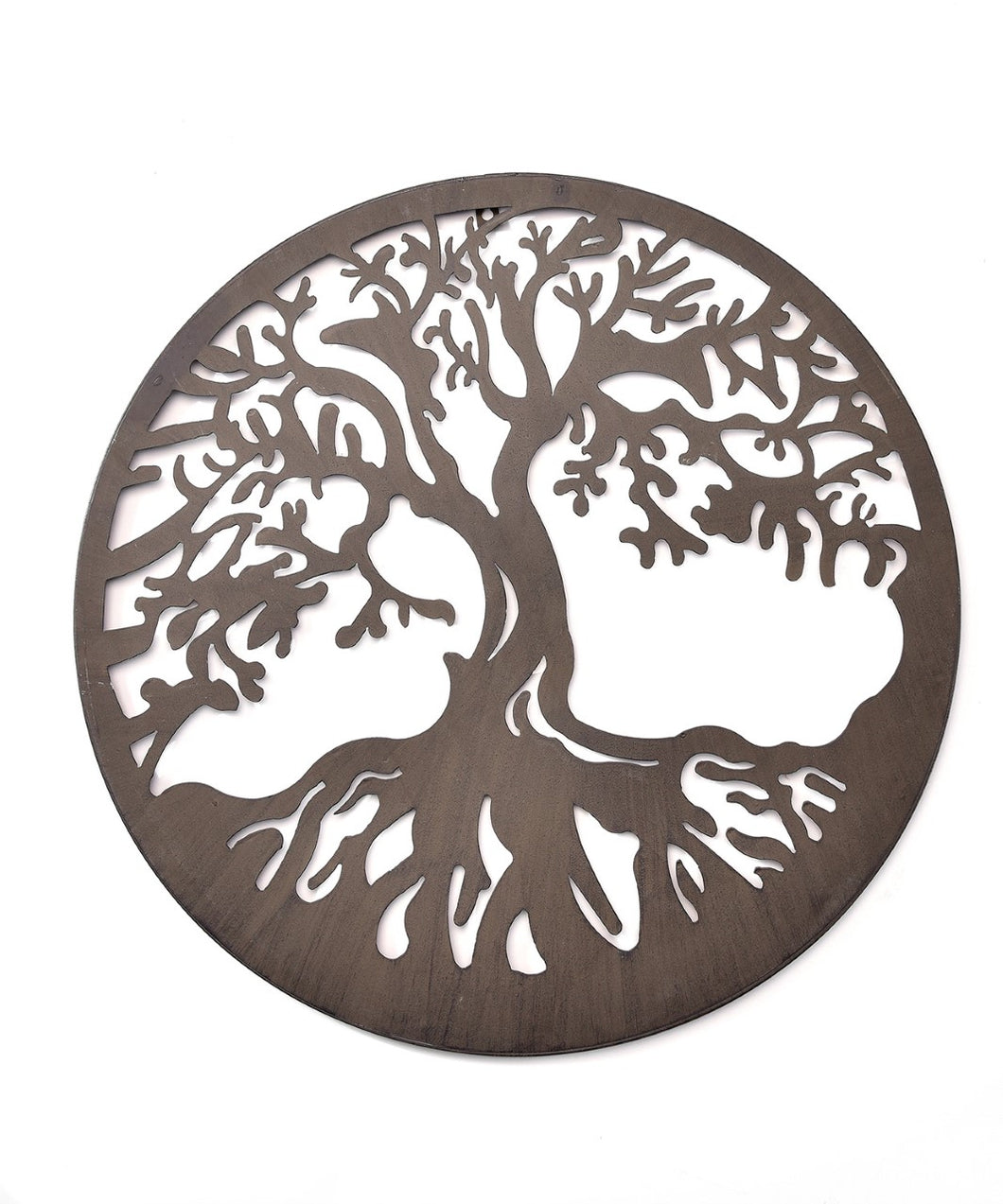 Iron Round Wall Plaque