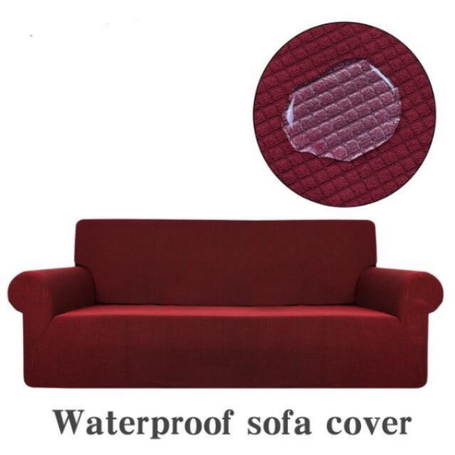 Simple Solid Color Sofa/Chaise Cover
