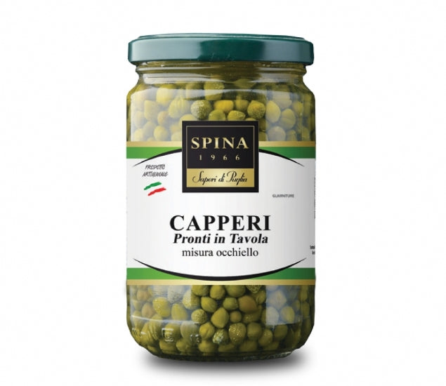 Capperi pronti in tavola