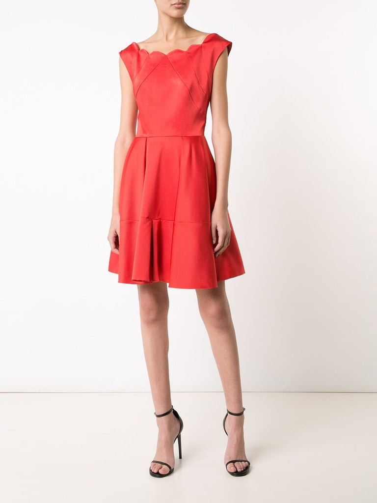 Cordelia Dress - Coral