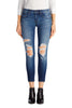 Low-Rise Crop Skinny in Decoy Destruct