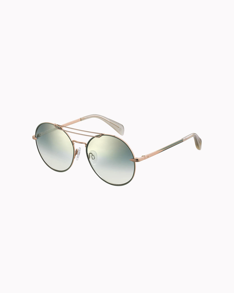 Vittoria Sunglasses - Gold/Green