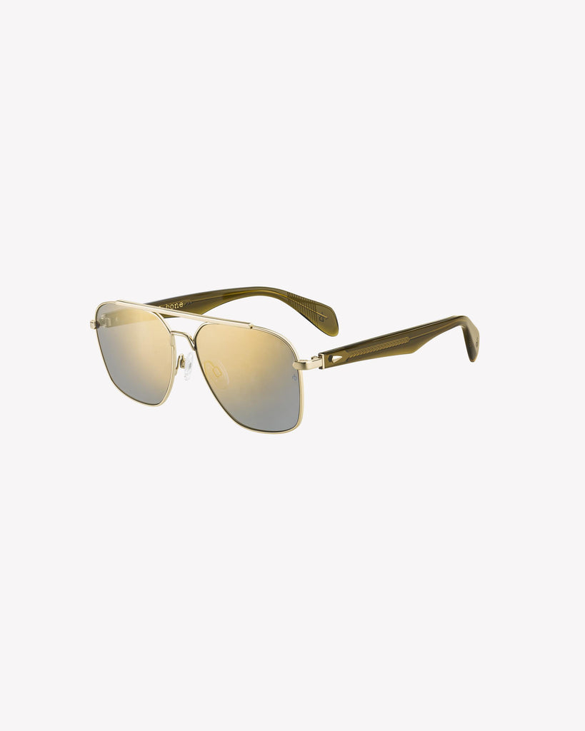 Falco Sunglasses - Gold/Brown