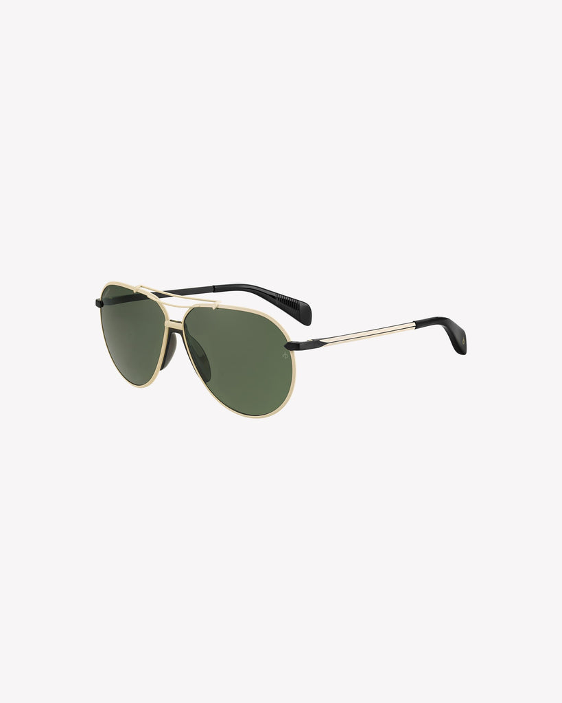 Helix Sunglasses - Ivory/Black