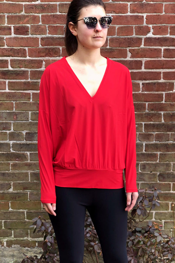 Brillant Blouse - Red