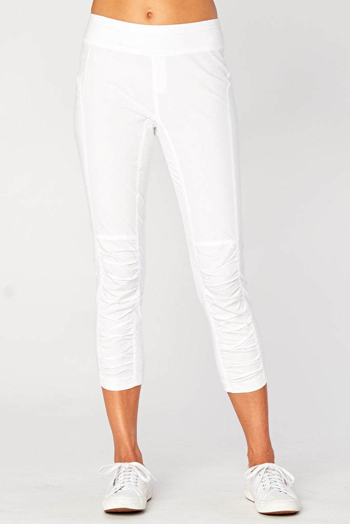 Crop Leggings - White