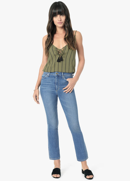 The Callie High Rise Cropped Bootcut - Meryll