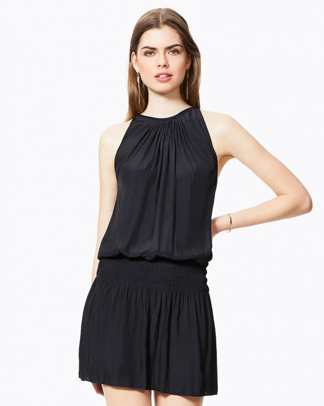 Paris Sleeveless Dress - Black