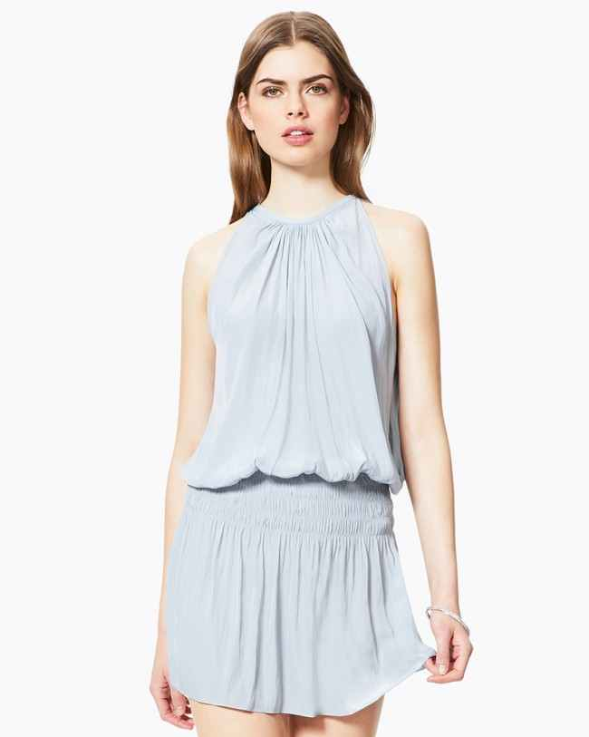 Paris Sleeveless Dress - Silver