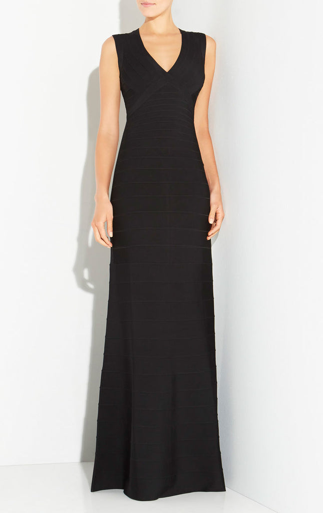 Marlyn Signature Essentials Gown - Black