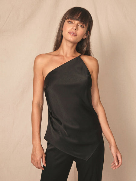 Kinney Asymmetrical Top - Black