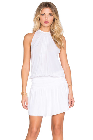 Paris Sleeveless Dress - Ivory