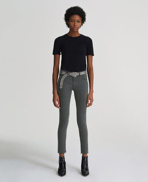 The Legging Ankle - Ash Green