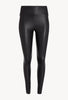 Ankle Leather Legging - Black