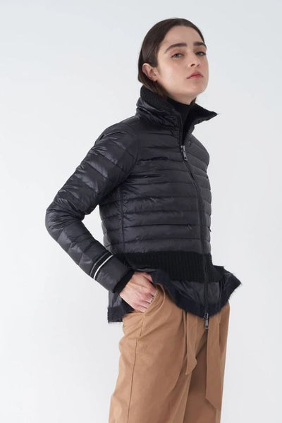 Bev Lightweight Puffer Jacket - Black