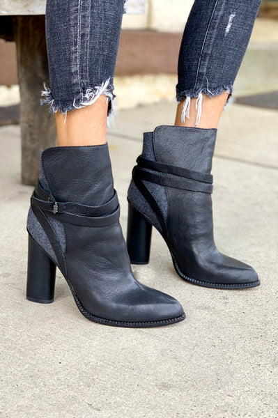 Hue Bootie - Black / Grey