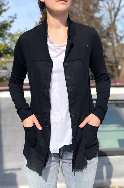Button Up Jacket - Black
