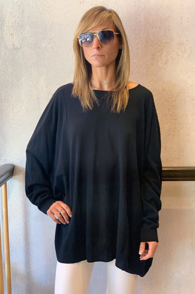 Knitted Tunic - Black