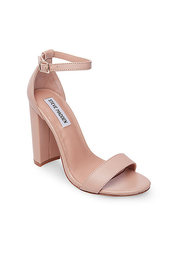 Carrson Heel - Blush Leather