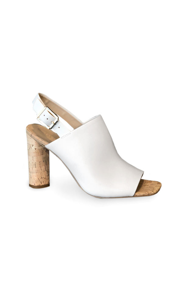 Bodhi Leather Sandal - White