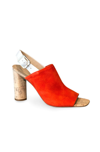 Bodhi Suede Sandal - Orange
