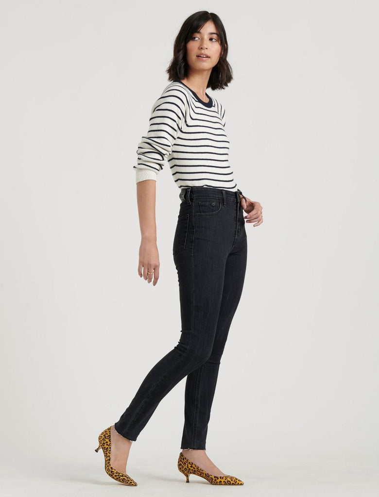 High Rise Bridgette Skinny Jean - Wishbone