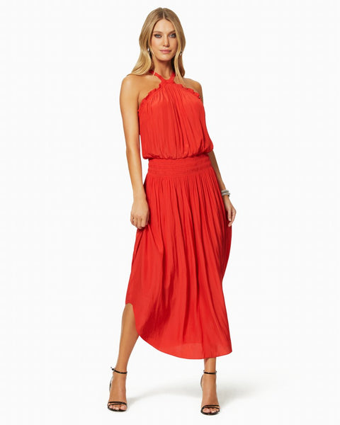 Chloe Dress - Bright Red