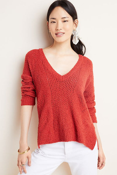 Maj Sweater - Burnt Orange