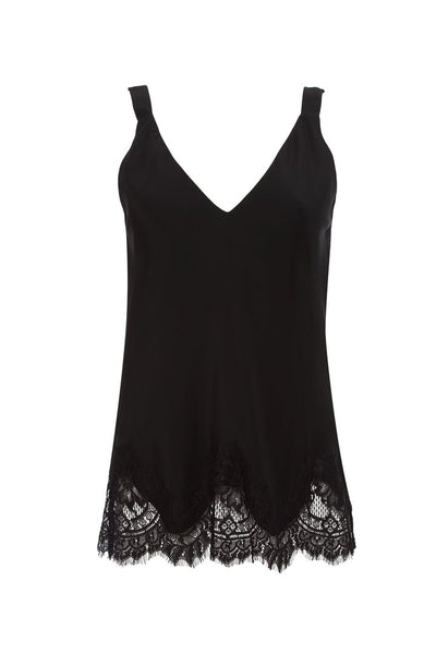 Alexa Lace Cami - Black