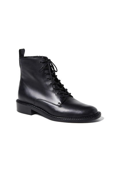 Cabria Leather Boots - Black