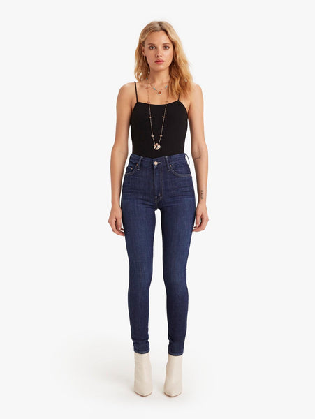 The High Waisted Looker Denim - Clean Sweep