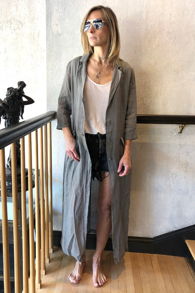 Long Coat - Grey