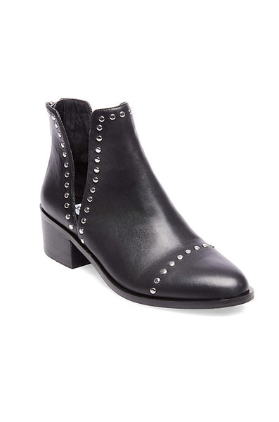 Conspire Boots - Black Leather