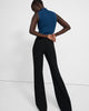 Demetria Pull-On Pant in Crepe - Black